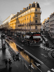 Rue De Turbigo au petit matin