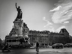 À Paris à vélo...