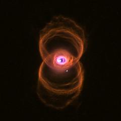 Engraved Hourglass Nebula (MyCn 18)