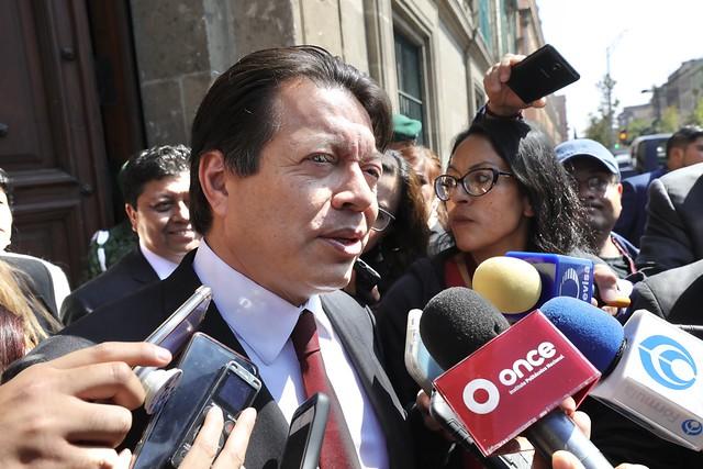 12/02/2020 Entrevista Dip. Mario Delgado Carrillo
