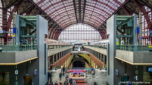 Antwerp, Belgium: Main railway station