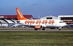 G-EZYD Boeing 737-300 EasyJet Luton 13-08-1997