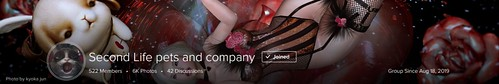 Second Life pets and company 2020.2.12