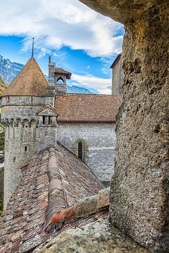 Château Chillon, Lake Geneva