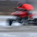 Quad bike racer by Derek Dewey-Leader