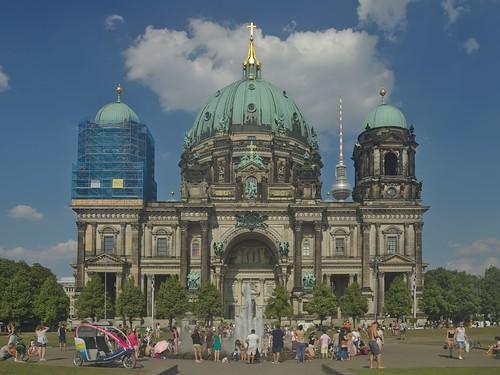 2018-08-04 DE Berlin-Mitte, Lustgarten, Berliner Dom