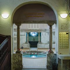 Le bain romain et son marbre