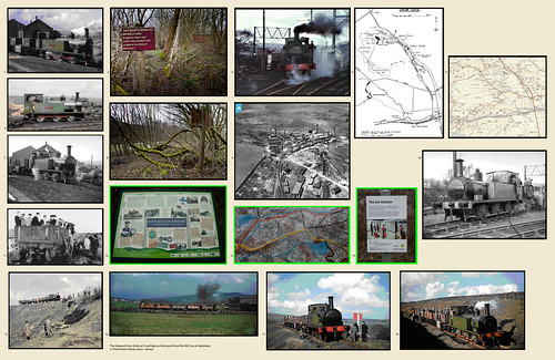 The Hepworth Iron Works at Crow Edge on the branch from the MSL line at Hazlehead - various