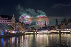 Zürich Fäscht Fireworks, 2/4