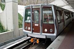 WMATA railcar 2075