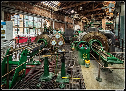 Steam engine_Museum of Science and Industry_Manchester_GB