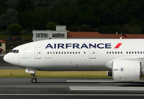 F-GSPE B777-228ER cn 29006 Air France 170702 Lajes Field 1007