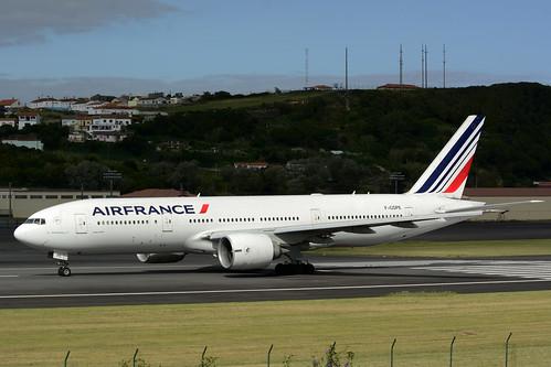 F-GSPE B777-228ER cn 29006 Air France 170702 Lajes Field 1005