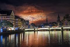 Zürich Fäscht Fireworks, 3/4