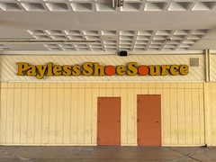 Payless ShoeSource Sign Northside Shopping Center Miami
