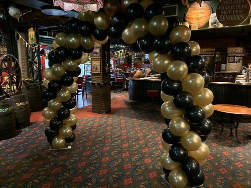 Ballonboog 6m Desert Inn Pub Carlton Oasis Hotel Spijkenisse