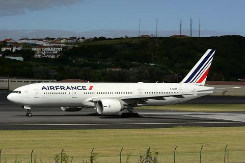 F-GSPE B777-228ER cn 29006 Air France 170702 Lajes Field 1006