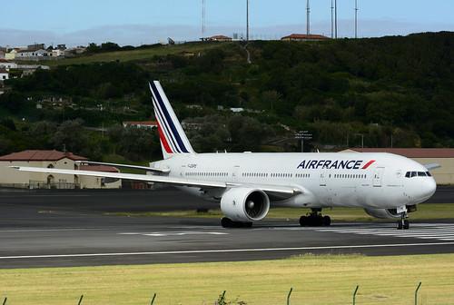 F-GSPE B777-228ER cn 29006 Air France 170702 Lajes Field 1004