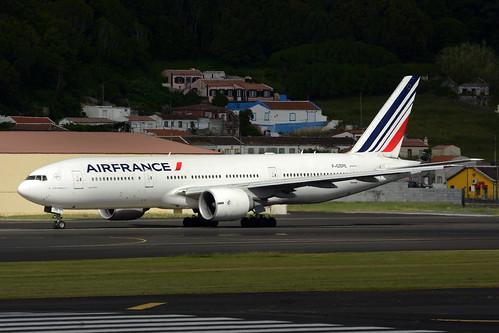 F-GSPE B777-228ER cn 29006 Air France 170702 Lajes Field 1003