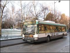 Renault Agora S – RATP (Régie Autonome des Transports Parisiens) / STIF (Syndicat des Transports d'Île-de-France) n°7693