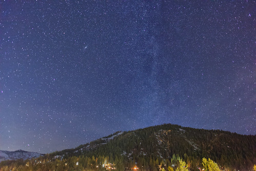 Stars over Squaw Valley