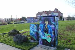 Jimi Hendrix Park Art