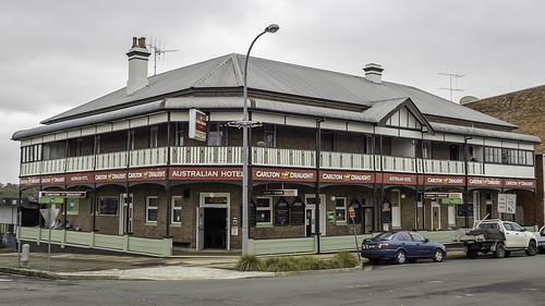 Wingham NSW - Australian Hotel - built 1889 - Heritage Listed