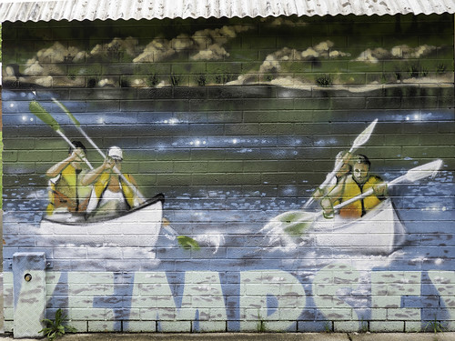 Kempsey Riverside Park NSW - Murals and Public Art - Artist(s) unknown