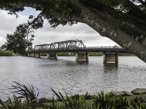 Macksville Bridge over Nambucca River - built 1931