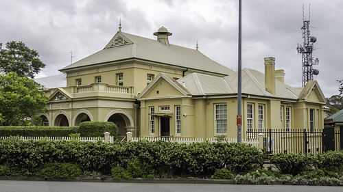 Kempsey Court House - built 1876 - heritage listed
