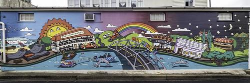 Macksville NSW - Wallace Lane murals and public art
