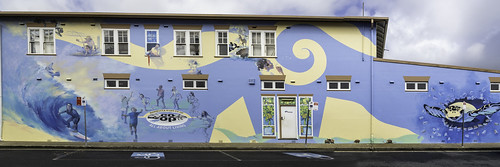 Macksville NSW - Wallace Lane murals and public art