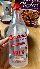 #AlexandreFamilyFarms #Organic #Milk