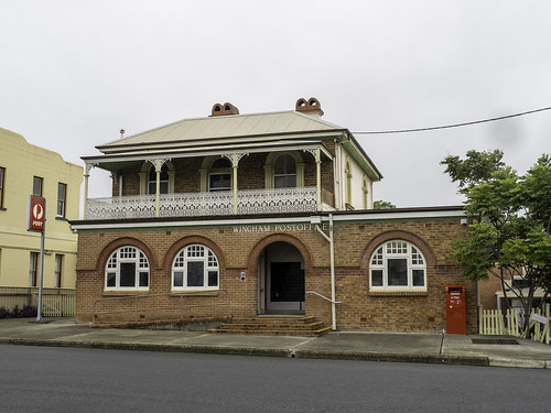 Wingham Post Office - built 1884 - Heritage Listed