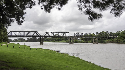 Kempsey NSW Old Pacific Highway bridge over Macleay River