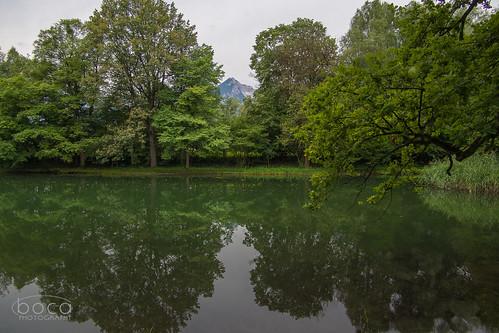 Schloss Matzen, Park