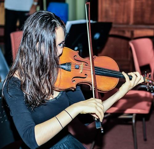 Violinist Ipswich City Orchestra
