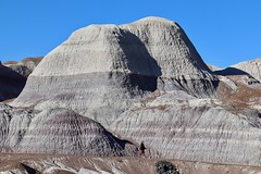 Actual size of Marlena and Badland hill