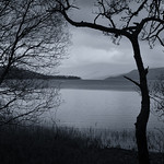 02 Dusk on loch Tay Tony Hollick by Anthony Hollick