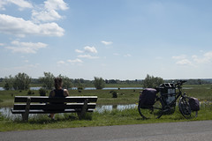 Bike touring trip Roermond Leerdam Arnhem Roermond