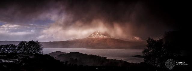 Storm Clouds over Beinn Alligen