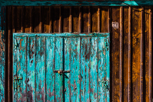 That green old door