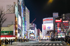 I love all the crosswalks in Tokyo. They go in every direction and it all works so smooth. Bic Camera is a fun destination. Not the best camera store (there are so many) but it has stock of everything.