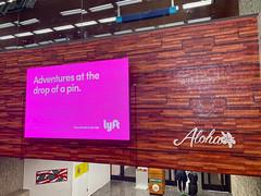 Lyft Ad - Aloha - Honolulu Airport