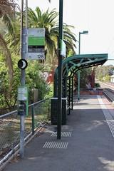 Albert Park tram stop eastern platform