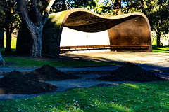 SHELTER IN PHOENIX PARK [THE PEOPLES FLOWER GARDENS]-160217