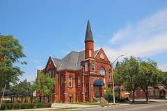 Brantford Ontario - Canada - Calvary  Baptist Church - Heritage - Adaptive Reuse Building