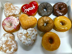 Donuts for Valentine's Day