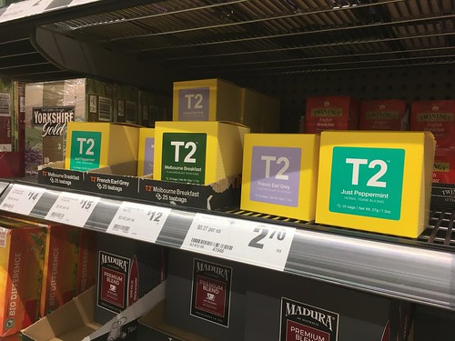 T2 at Woolies?! (But Why Pay That Much For The Ordinary Flavours?)