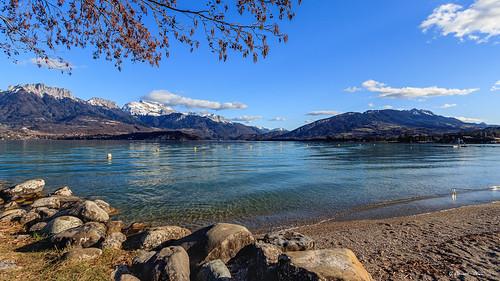 Montagnes et lac de Hte Savoie (02/2020)